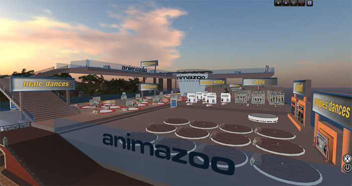 moving animazoo into second life