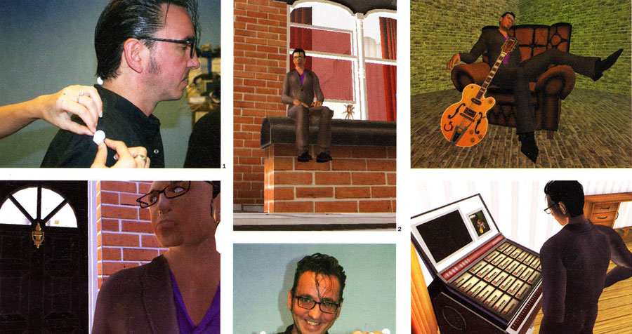 Richard Hawley live performance animations